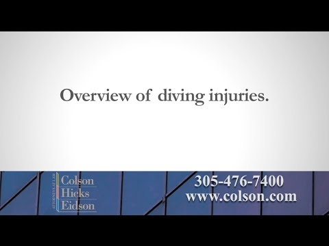 Common Diving Injuries