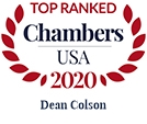Top Ranked Chambers USA 2020 Dean Colson