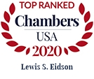 Top Ranked Chambers USA 2020 Lewis S. Eidson