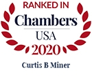 Top Ranked Chambers USA 2020 Curtis B. Miner