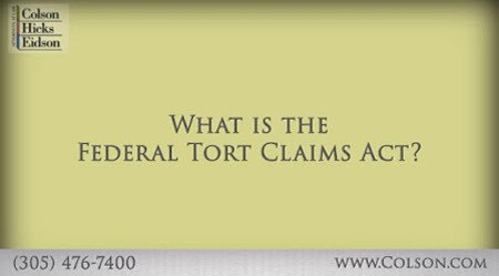 Attorney Mike Eidson – What Is The Federal Tort Claims Act